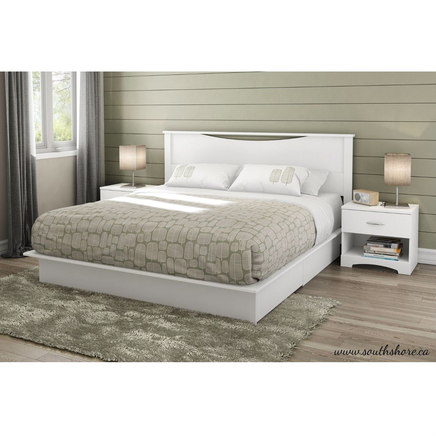 Arianwen Platform Bed King size.