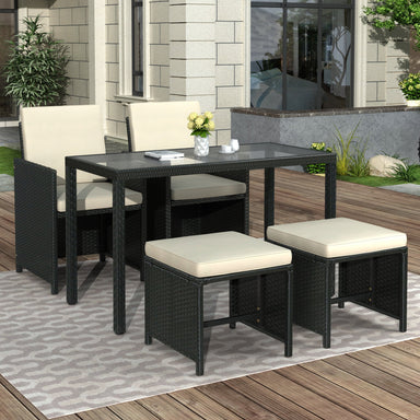 Lance Patio Furniture Set (5-Piece).