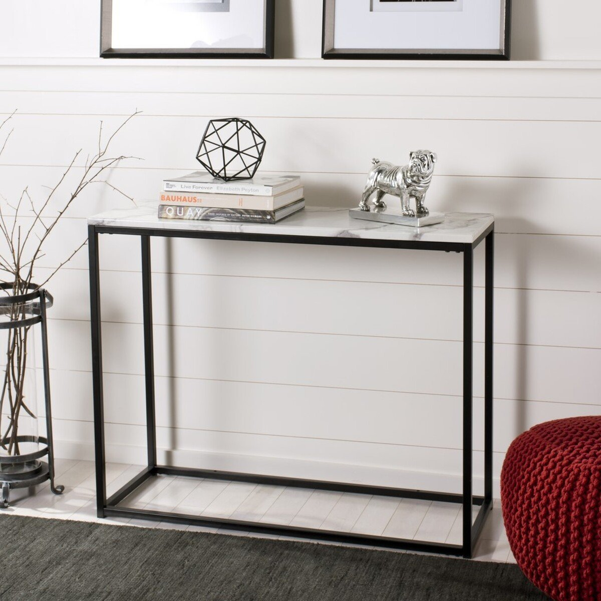 Baize Console Table.