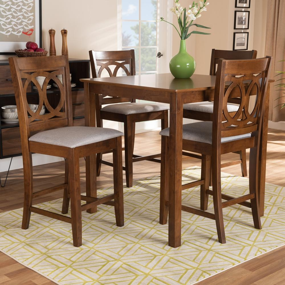 Ava Bar Table Set (5-Piece).