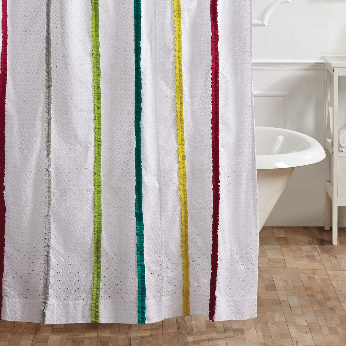 Everly Shower Curtain.