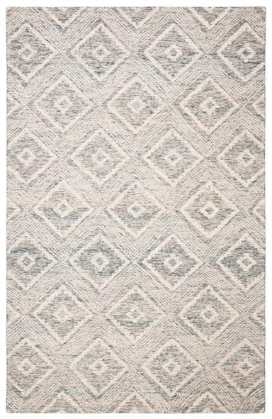 Abstract Collection ABT347L Wool Rug.