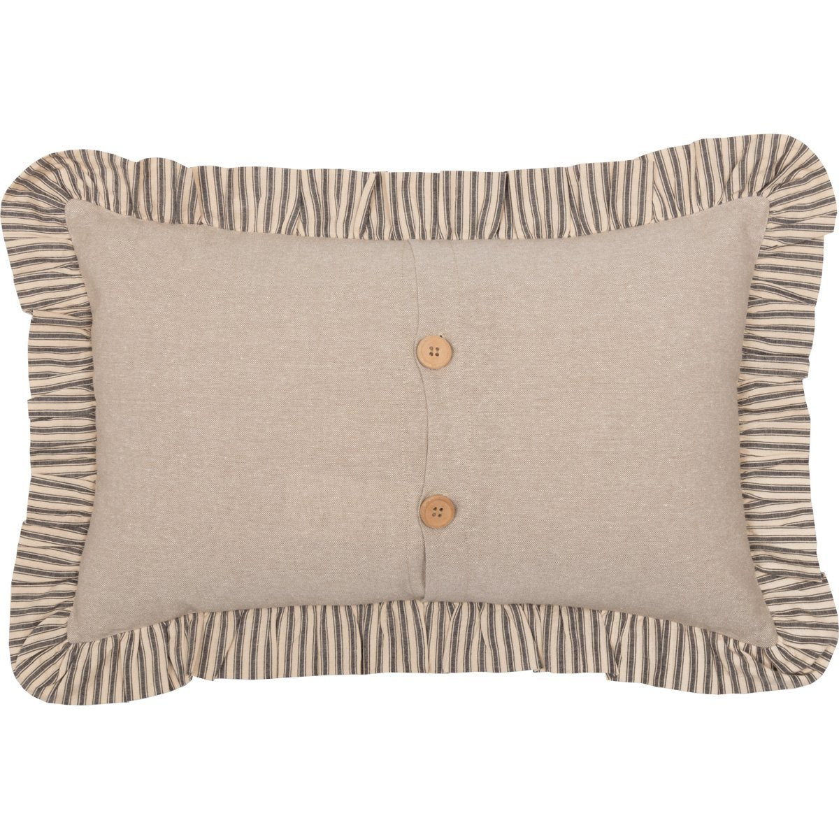 Sawyer Mill Star Charcoal Pillow.