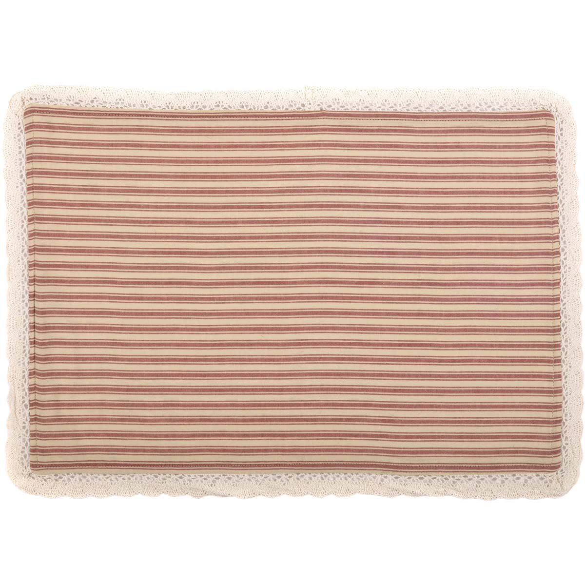Kendra Stripe Placemat Set 6