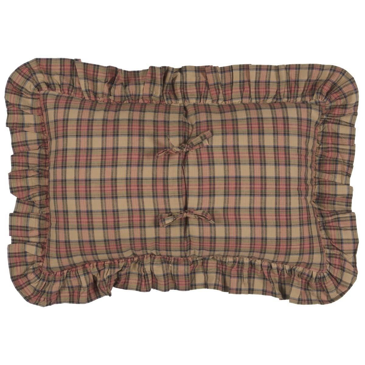 Crosswoods Fabric Pillow.