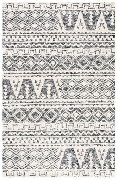 Abstract Collection ABT557A Wool Rug