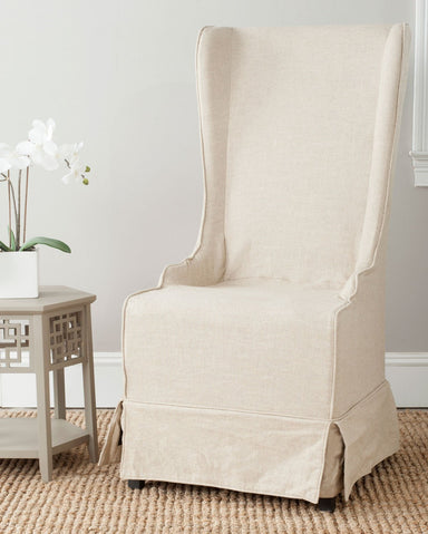 Becall 20'' H Linen Dining Chair.