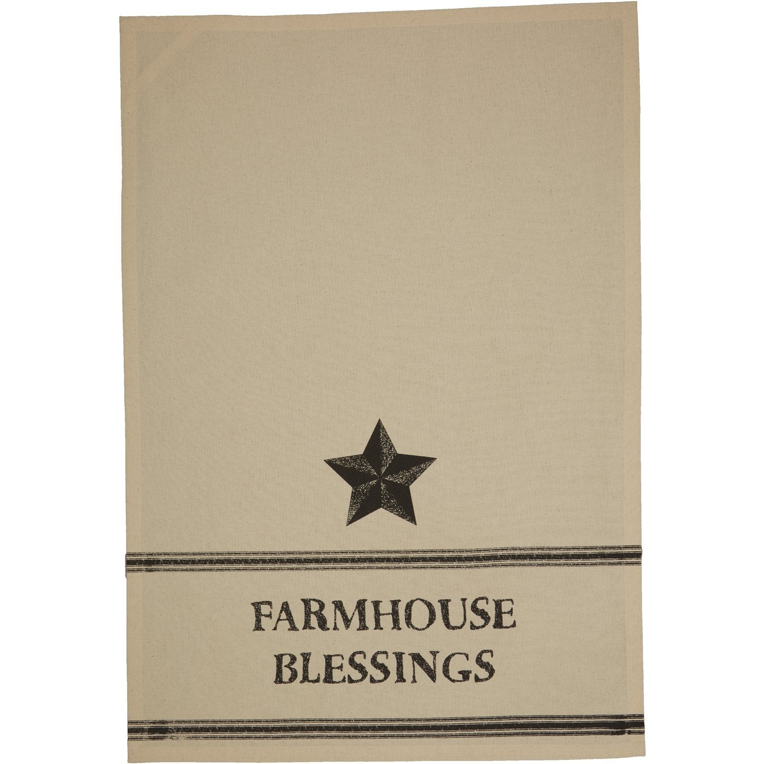 Farmhouse Star Kitchen Towel.