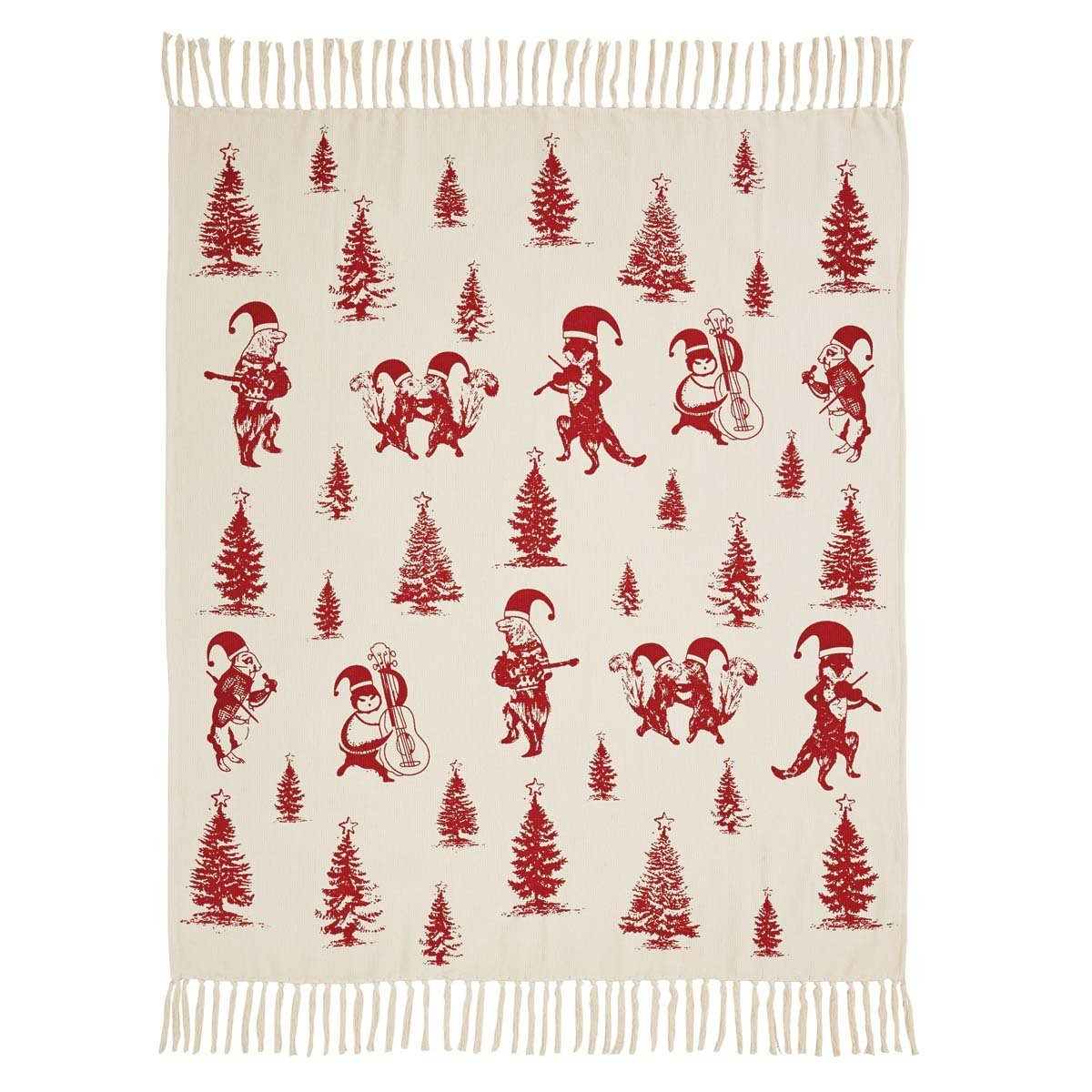 Creature Carol Woven Throw.