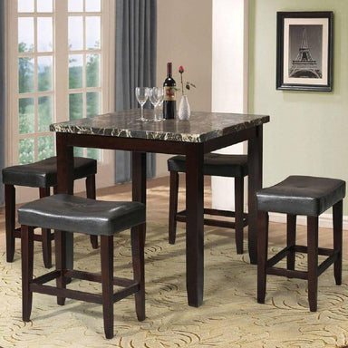 Adelbert Counter Height Table Set (5-Piece).