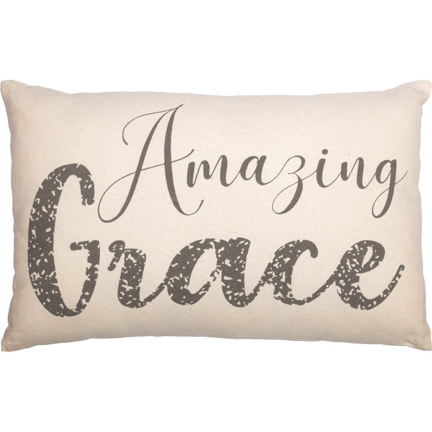 Casement Natural Amazing Grace Pillow.