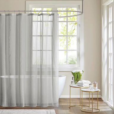 Anna Sheer Shower Curtain.