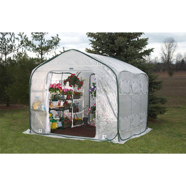 Farm-House 9-ft Home Garden UV Resistant Greenhouse.