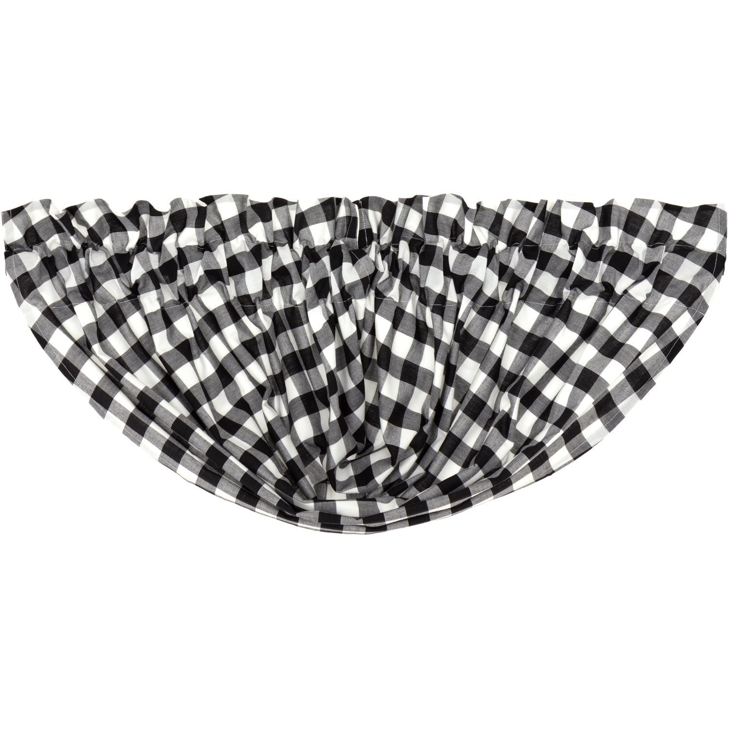 Annie Buffalo Check Balloon Valance.