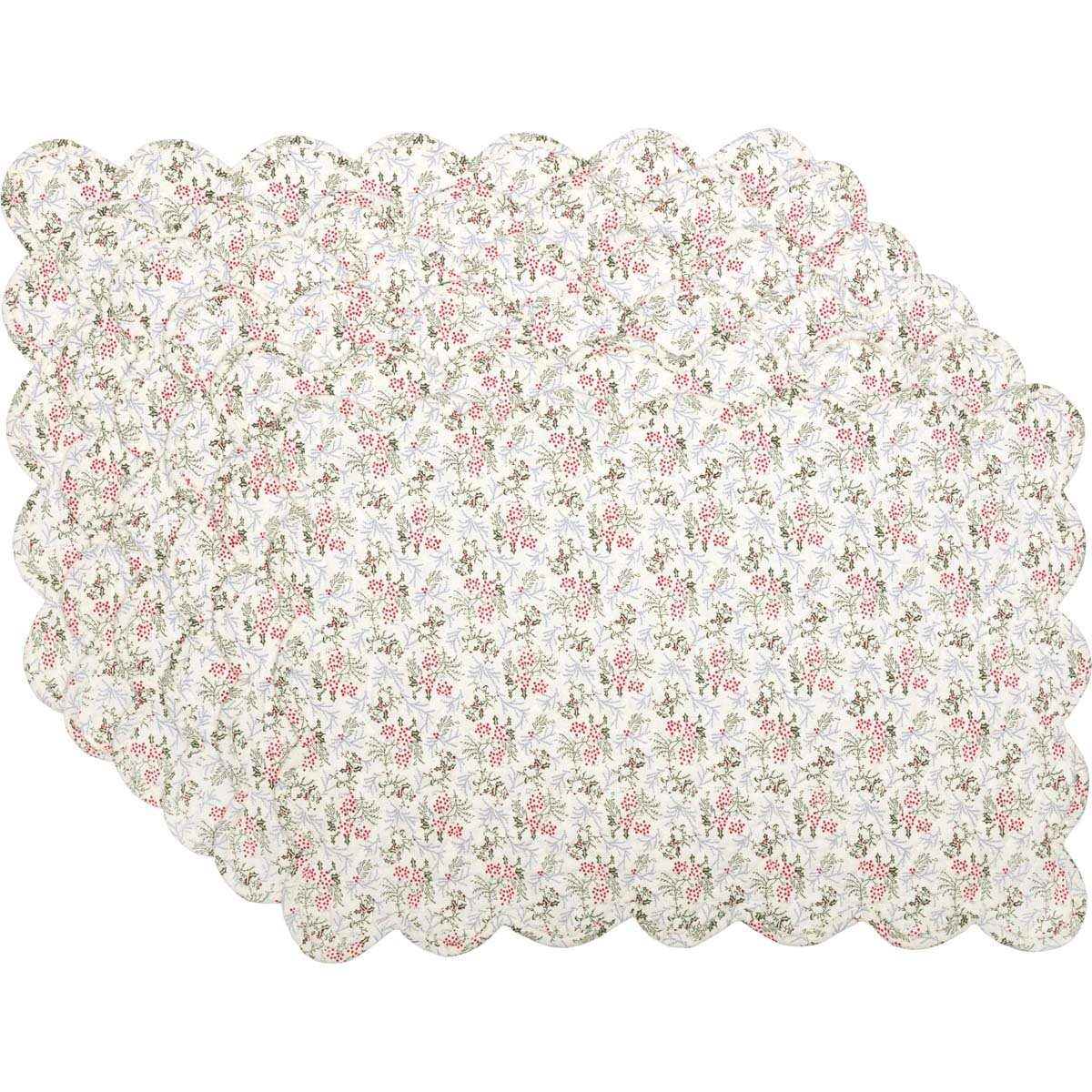 Carol Quilted Placemat Set of 6