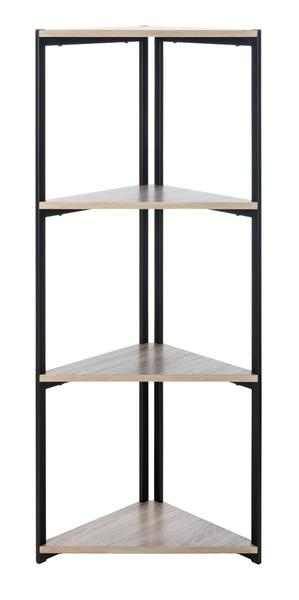 Logan 4 Tier Corner Bookshelf.