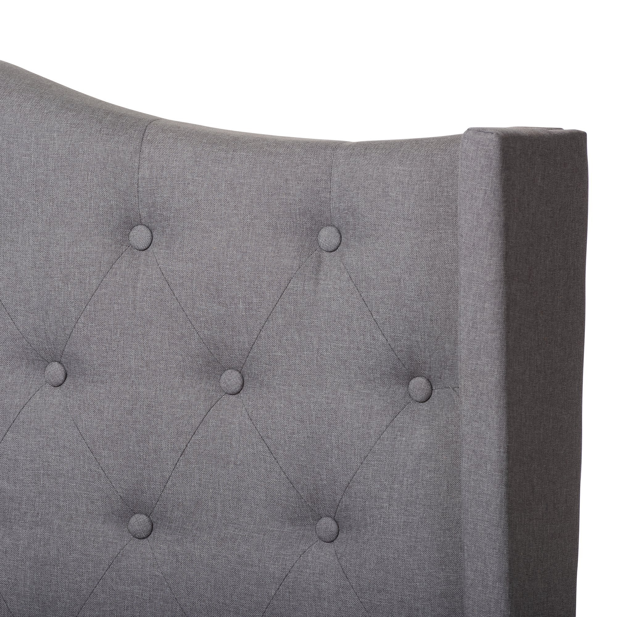 Jorgie Fabric Upholstered Bed