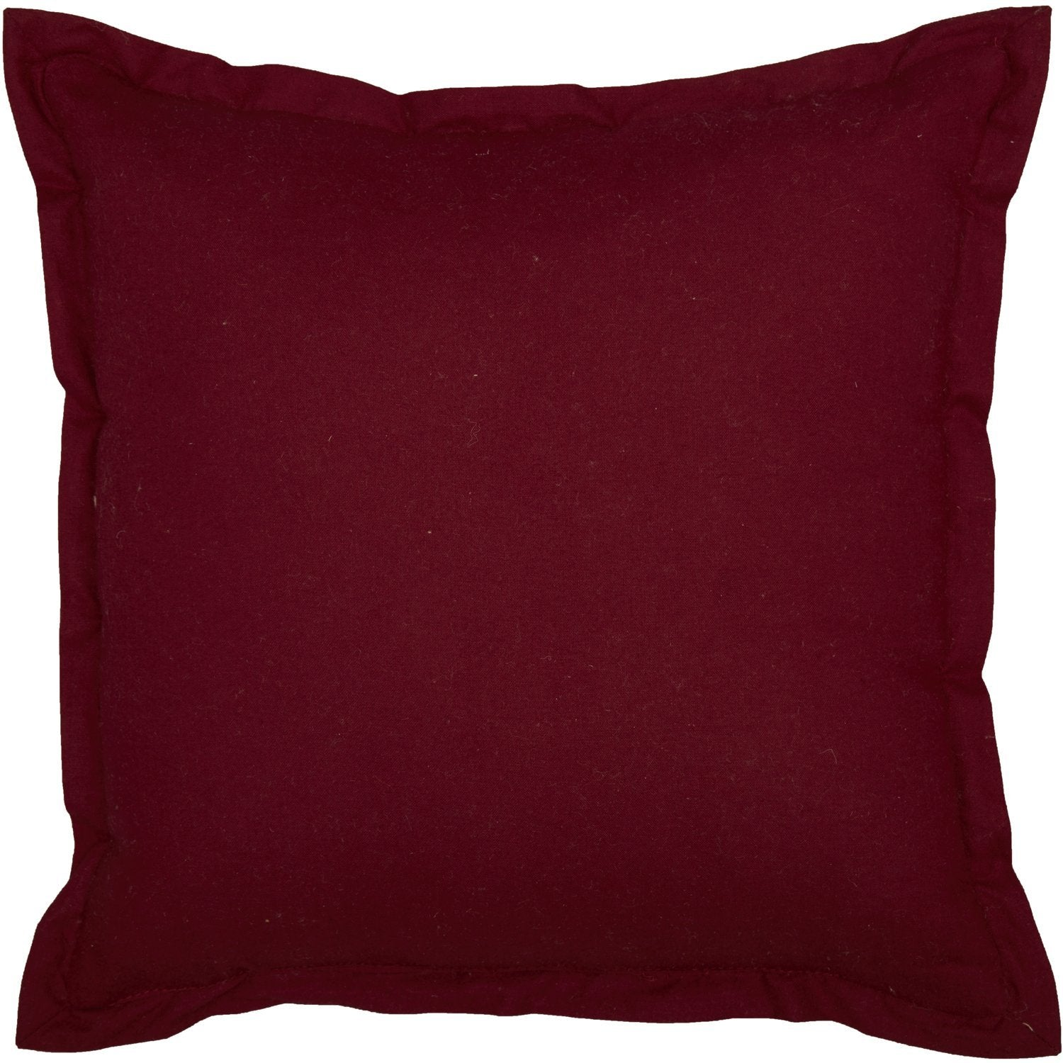 Ninepatch Star Quilted Pillow.