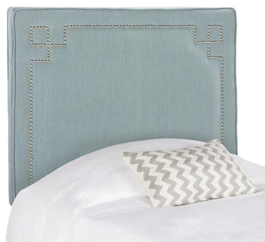 Remington  Headboard - Silver Nail Head.