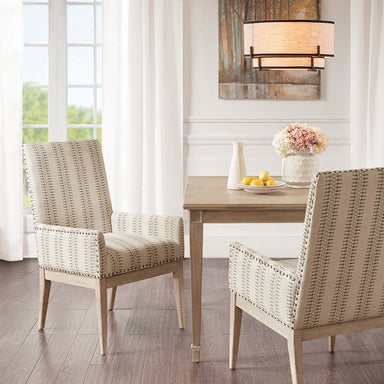 Rika Arm Dining Chair (Set of 2).