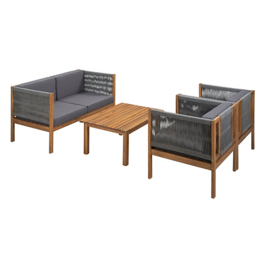 Rogers Outdoor Sofa Set (4-Piece).
