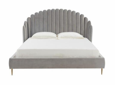 Rosabella Channel Tufted Bed