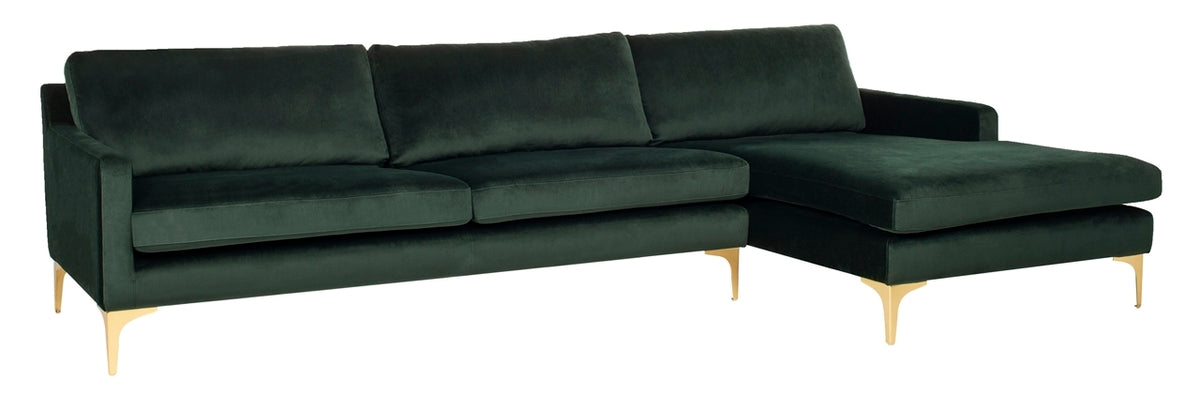 Brayson Chaise Sectional Sofa.