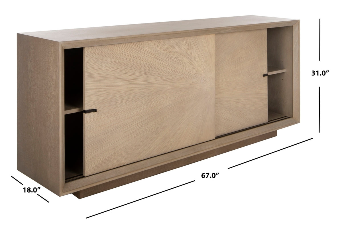 Francia Sliding 2 Door Sideboard.