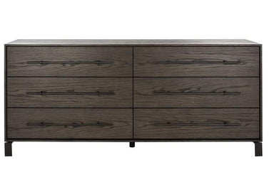 Simmons 6 Drawer Wood Dresser.