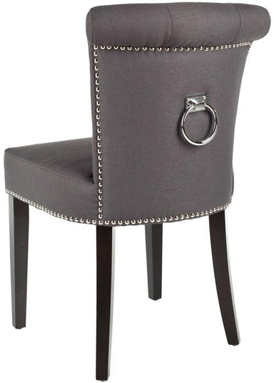 Sinclair 21''H Ring Chair (Set Of 2) - Silver Nail Heads
