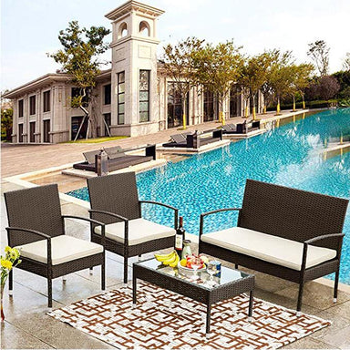 Soren Patio Furniture Set (4-Piece).