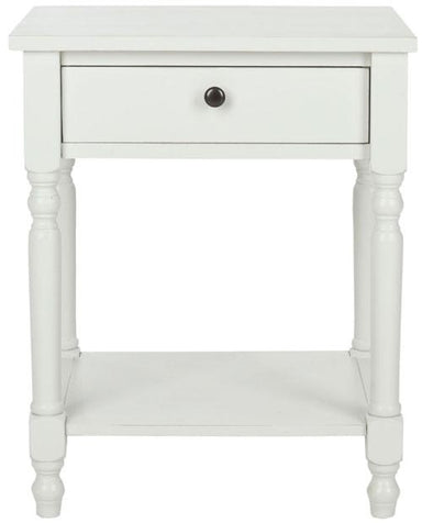 Tami Accent Table With Storage Drawer.