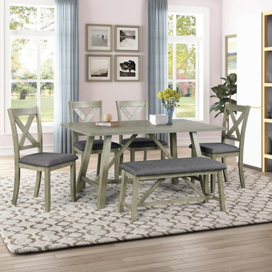 Terrell Dining Table Set (6-Piece)