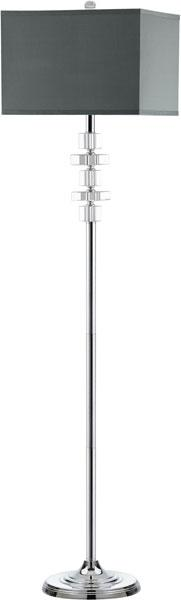 Times 60.5-Inch H Square Floor Lamp