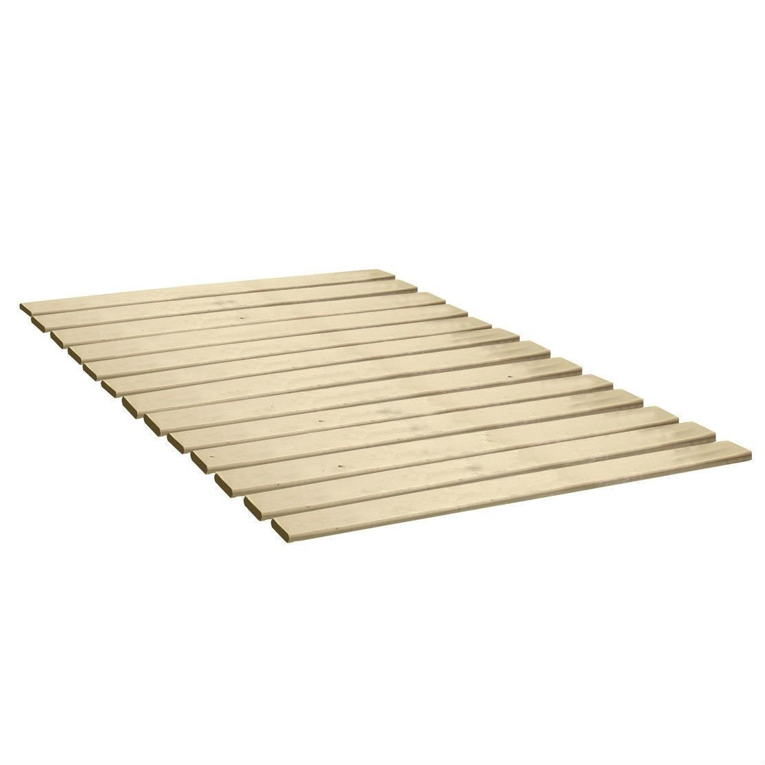 Twin size Heavy Duty Wooden Bed Slats - Made in USA.