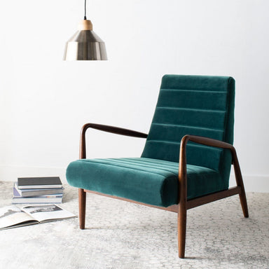 Willow Channel Tufted Arm Chair