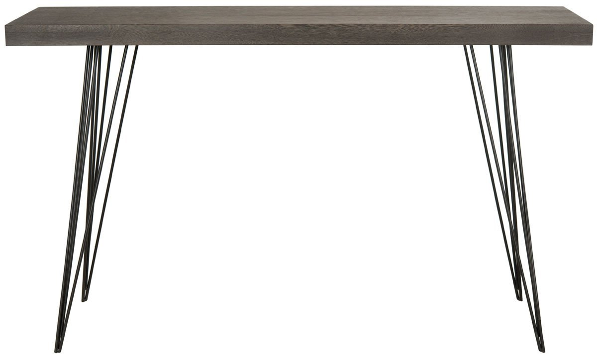Wolcott Retro Mid Century Lacquer Console Table.
