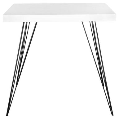 Wolcott Retro Mid Century Square Accent Table