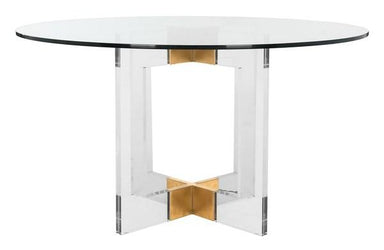 "Xevera 42"" Acrylic Dining Table"