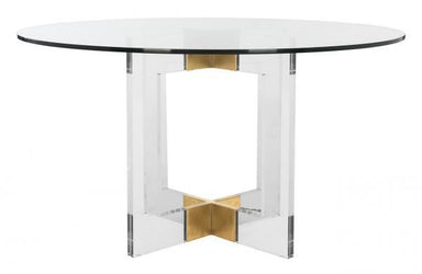 "Xevera 53"" Acrylic Dining Table"