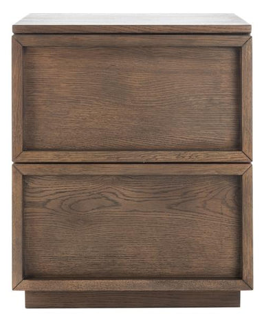 Zeus 2 Drawer Nightstand