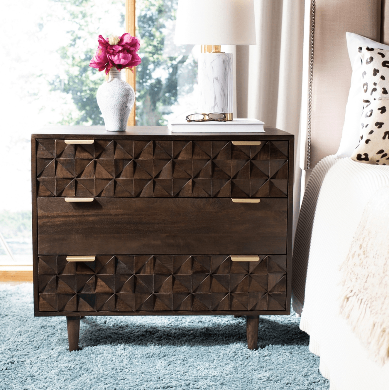Zinnia 3 Drawer Chest