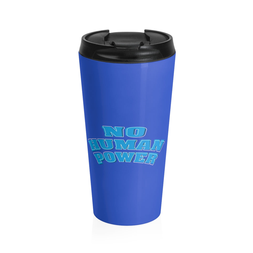 No Hunan Power Stainless Steel Travel Mug