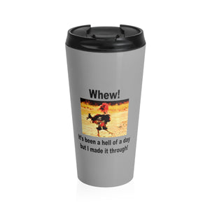 Rooster Stainless Steel Travel Mug