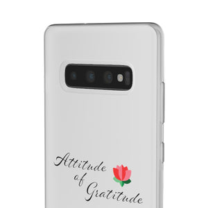 Attitude Of Gratitude - Flower Phone Case