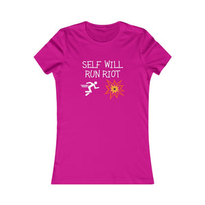 Self Will Run Riot Women's Tee