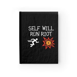 Self Will Run Riot Journal - Ruled Line