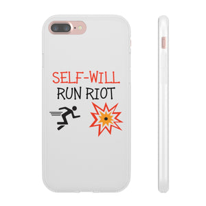 Self Will Run Riot Flexi Cases