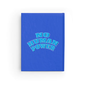 No Human Power Journal - Blank