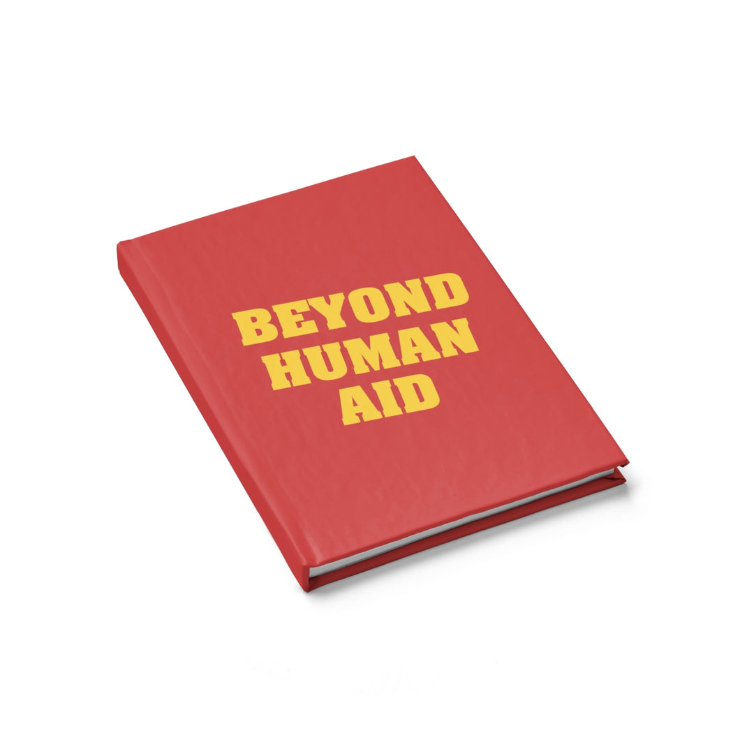 Beyond Human Aid Journal - Ruled Line